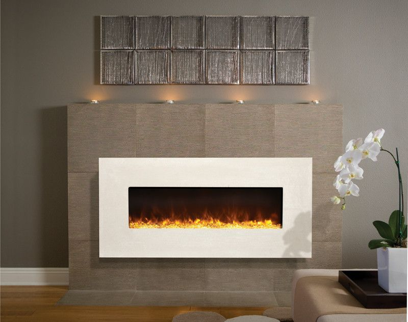 Amantii Artisan Built In Wall Mounted Electric Fireplace Blt In