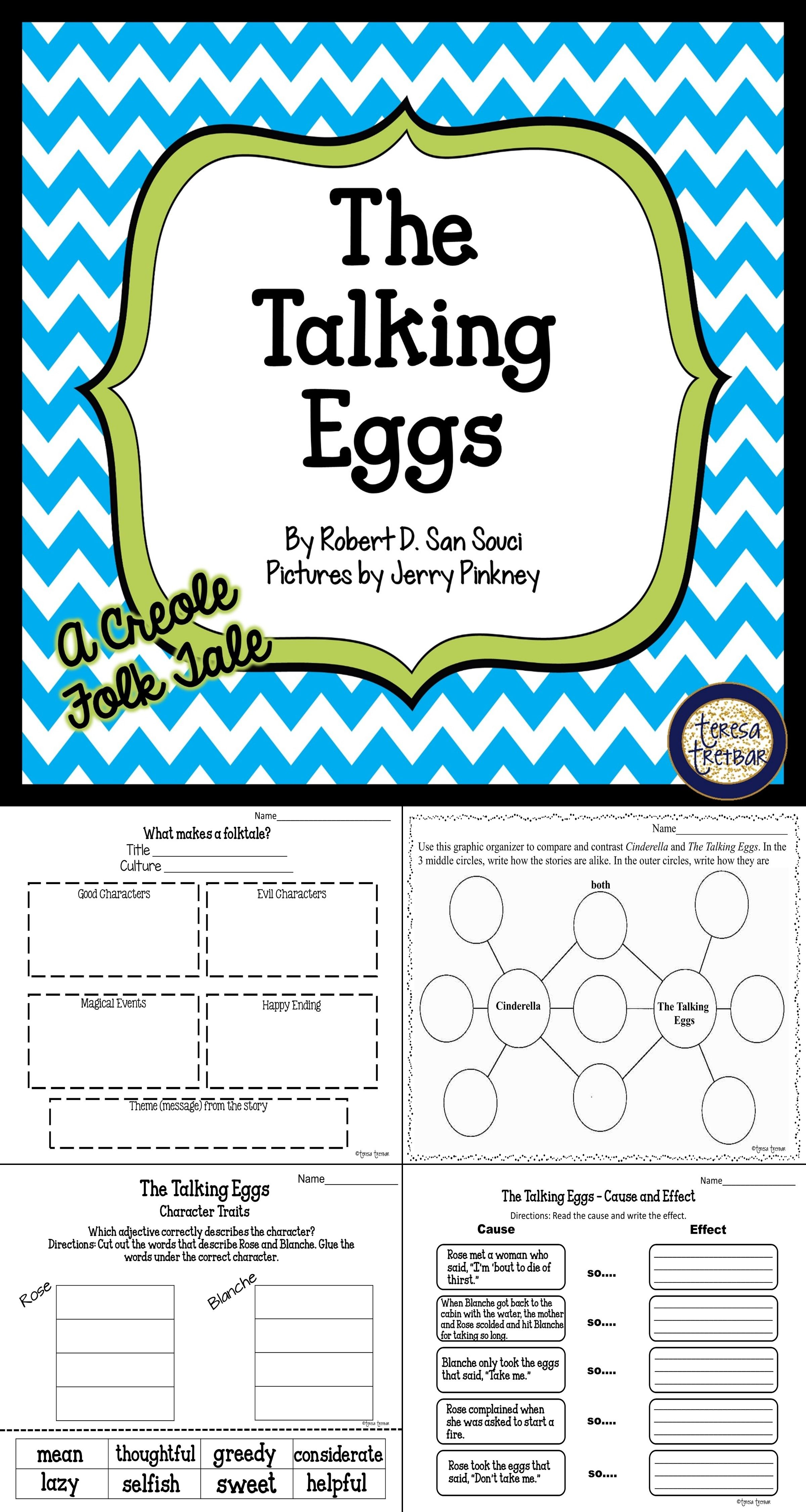 The Talking Eggs A Creole Folktale Book Extension