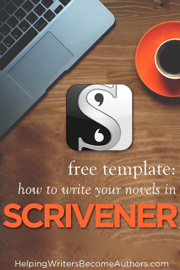 free scrivener template how to structure your story - Scrivener Resume Template
