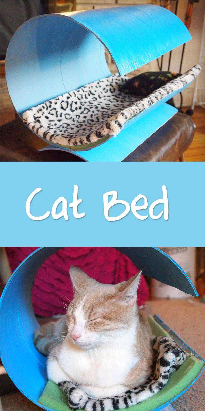 Diy quick easy modern cat house cats diy cat toys