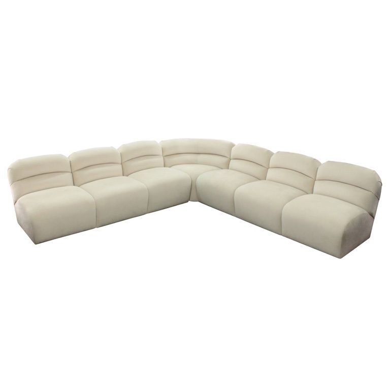 Chic Sectional Sofa by Brueton Industries | Sectional sofa ...