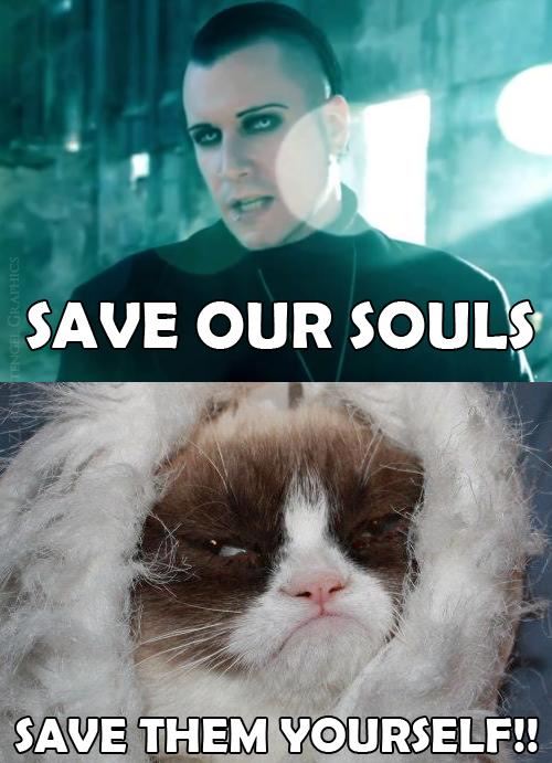 Chris Pohl and Grumpy Cat www.facebook.com/blutengelgraphics