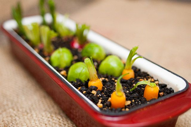 Heston blumenthal 39 s edible garden the dish consists of a - Olive garden interview questions ...