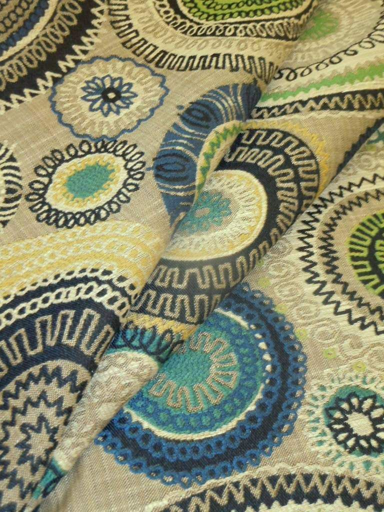 Pattern Rialto Color Ocean Upholstery Fabric Upholstery Fabric Home Decor Fabric Fabric
