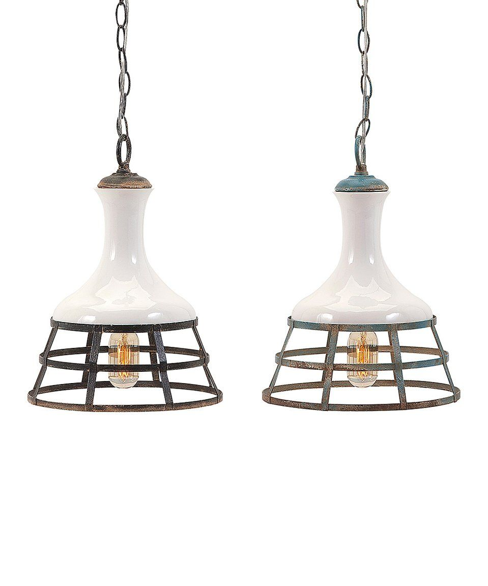 Take a look at this sandra pendant light set of two today home