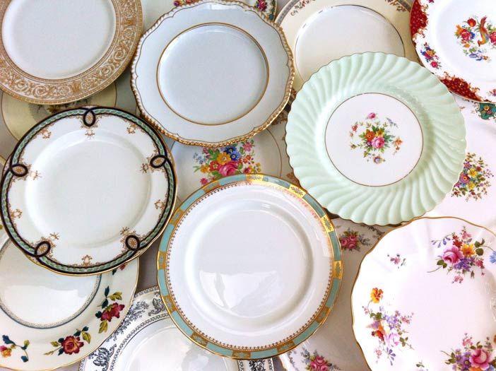 Vintage dinner plates - for hire & Vintage dinner plates - for hire   Portfolio   Pinterest   vintage China