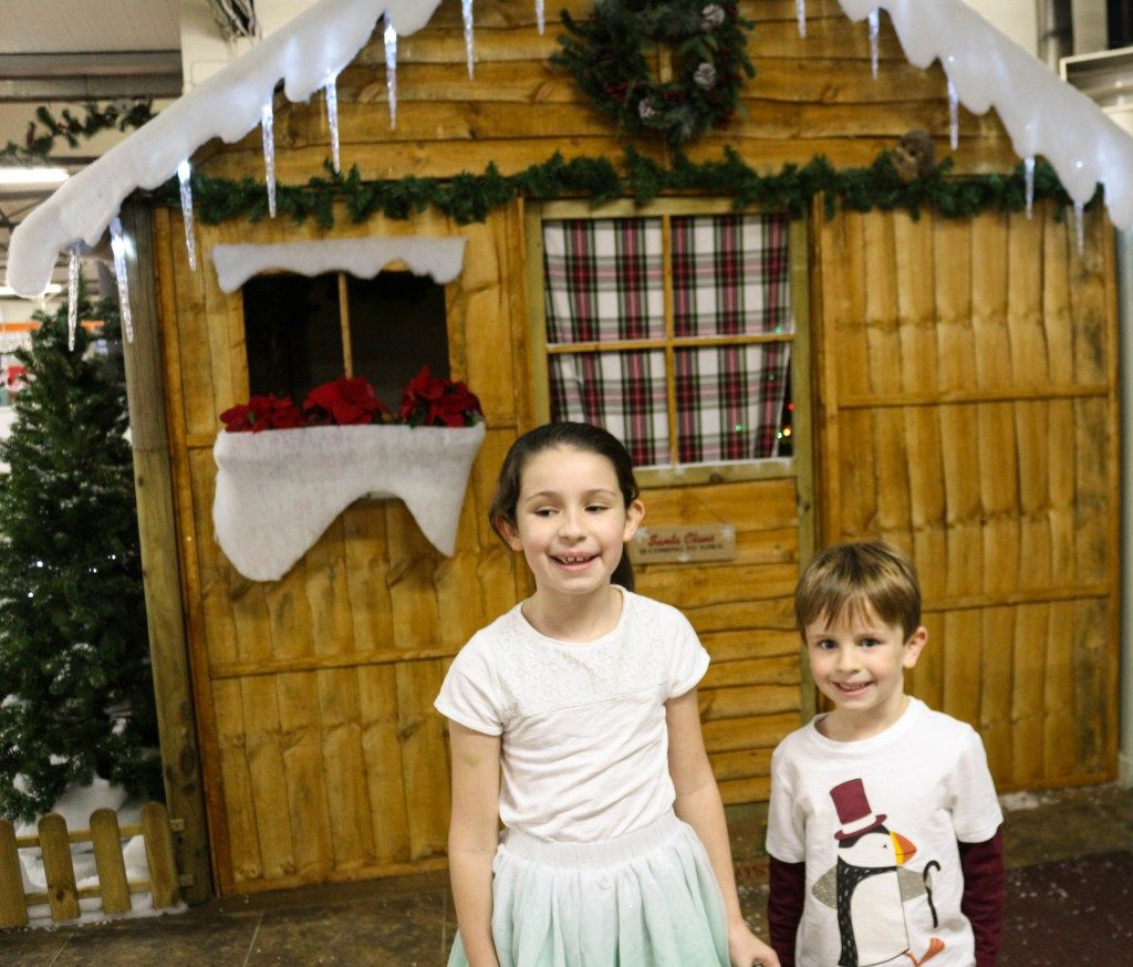 Teatime With Father Christmas At Wyevale Garden Centre London Christmas Father Christmas Garden Center