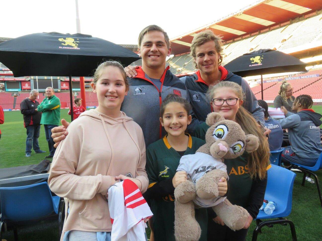 Meet and greet with our emirates lions thank you to all the lions meet and greet with our emirates lions thank you to all the lions supporters who came out we loved meeting all of you kristyandbryce Choice Image