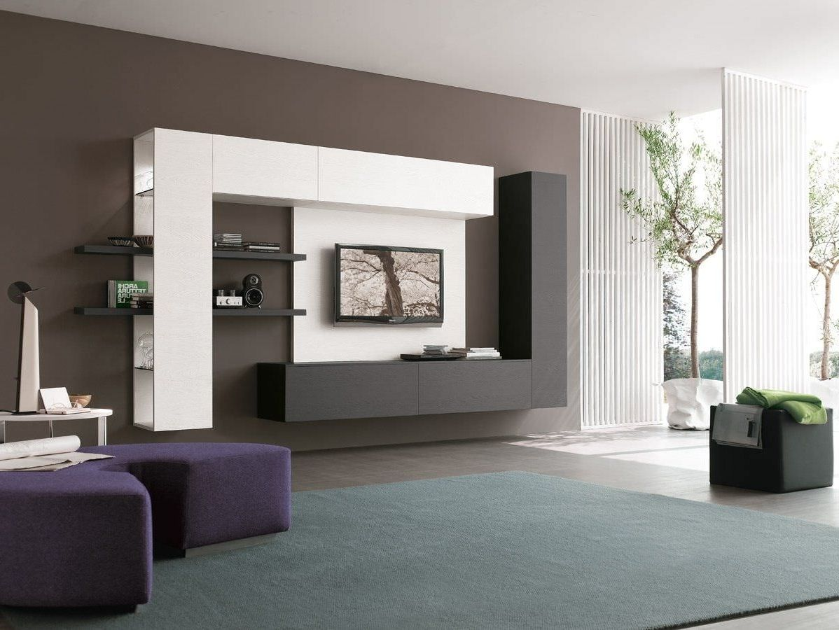 Tv Wall Unit Http U To Hyqfea Interiors Pinterest Tv  # Meuble Tv Separation De Piece