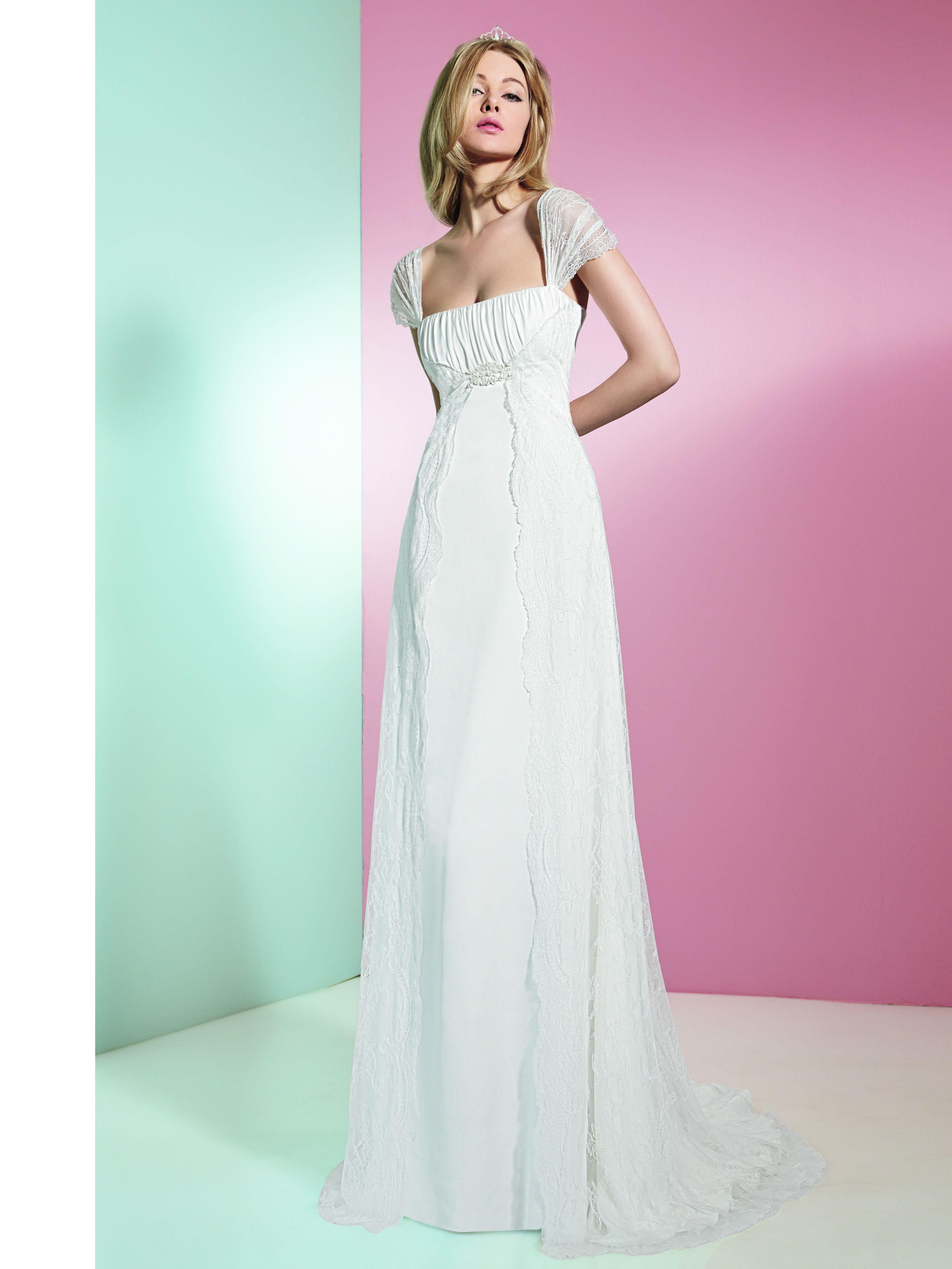 KALENA (Vestido de Novia). Diseñador: Raimon Bundó. ... | Casamiento ...