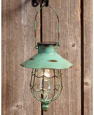 Green Rustic Solar Hanging Lantern Brighten Your Yard Deck Or Pathway With This Hanging Solar In 2020 Solar Hanging Lanterns Hanging Solar Lights Solar Light Crafts