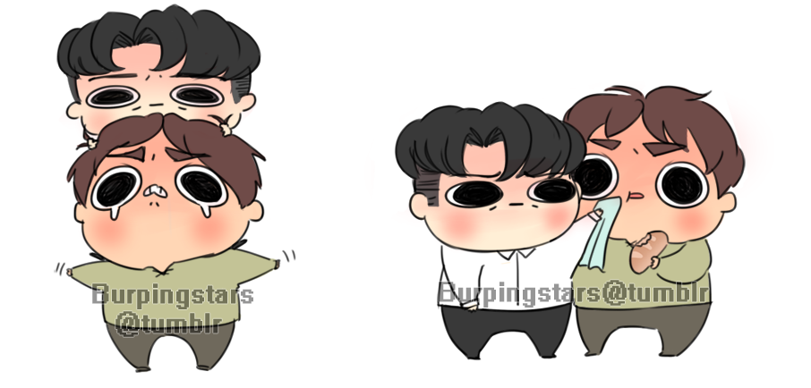 chibi eren and levi commissions 4 solitaire-circus! ♥chibi commission info♥