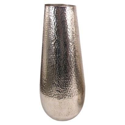 Hammered Metal Floor Vase Only 29