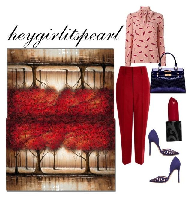 """""""Fall Look #62"""" by heygirlitspearl on Polyvore featuring Étoile Isabel Marant and RED Valentino"""