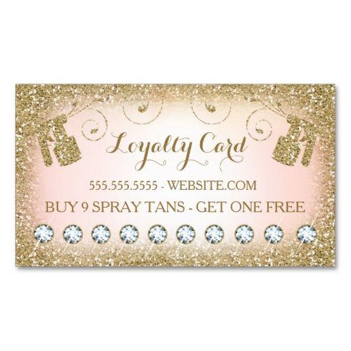 311 Spray Tan Loyalty Card 10 Diamonds Zazzle Com Spray Tan Business Spray Tanning Mobile Spray Tanning