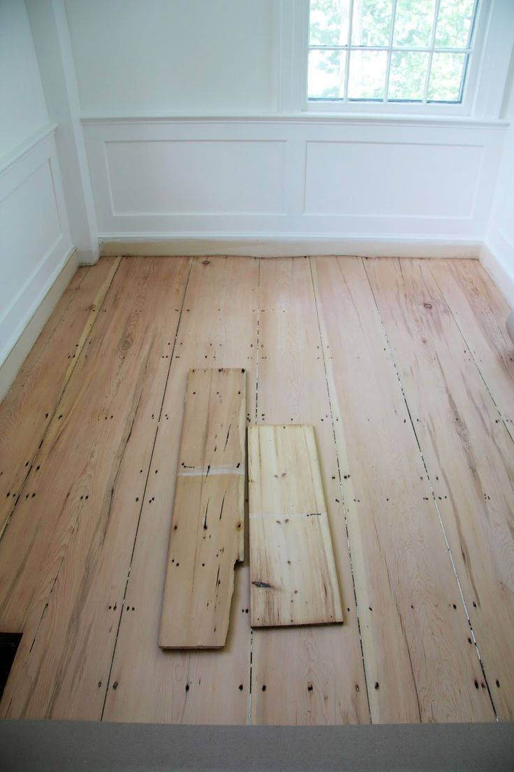 A Country Farmhouse- how to seal raw pine floors so they ...