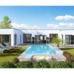 Modèle De Maison Esthétia   . Retrouvez Tous Les Types De Maison à Vendre  En France Sur Faire Construire Sa Maison | Derniers Plans | Pinterest