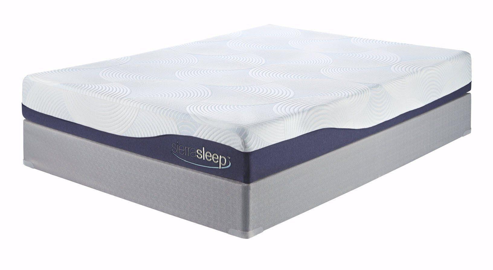 sierra sleep by ashley 9 memory foam and gel mattress king size