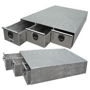 Aluminum truck bed drawer tool box xctb 45 aluminum truck toolbox pinterest truck bed - Truck bed boxes drawer ...
