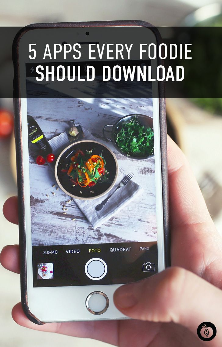 5 Apps Every Foodie Should Download