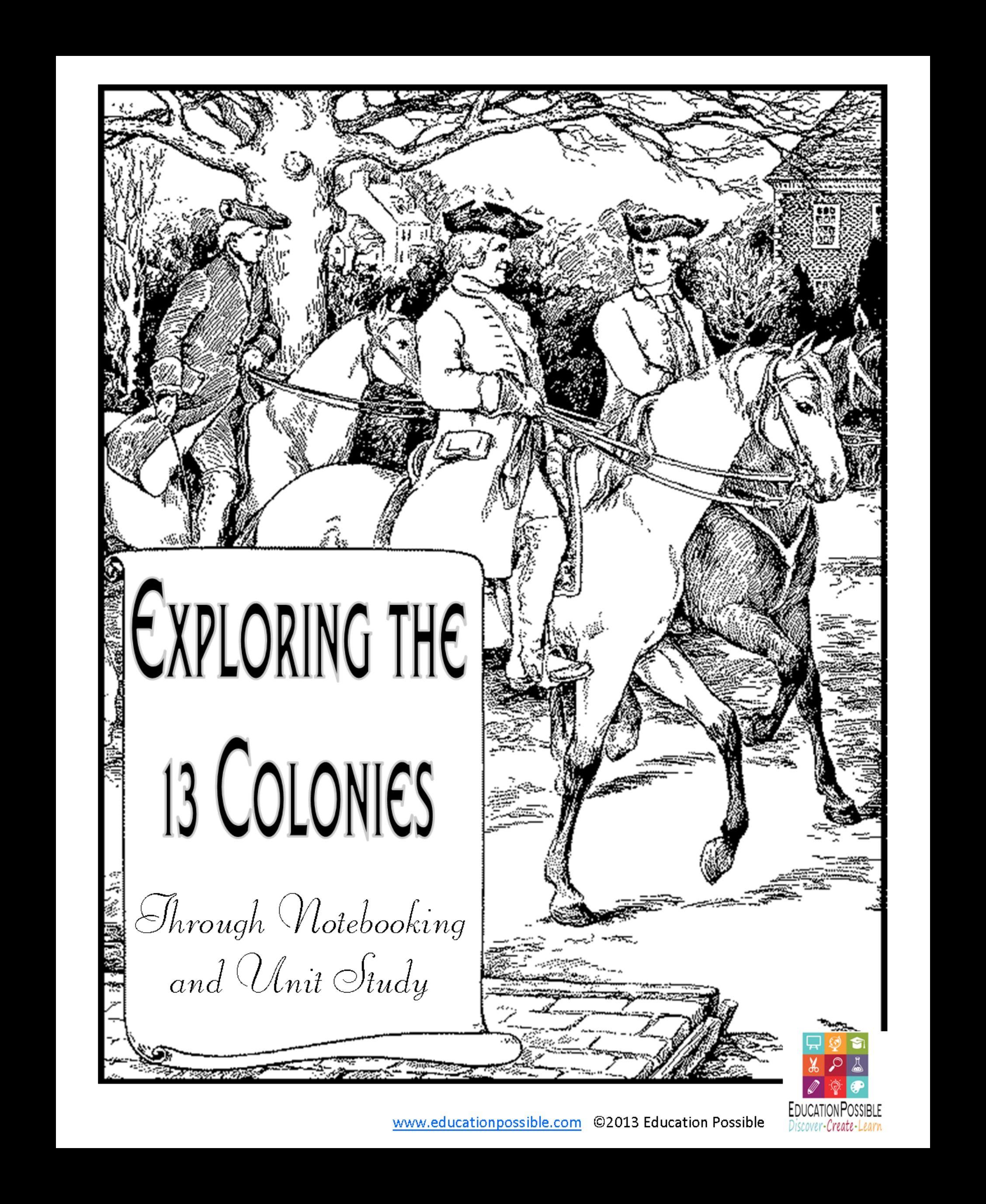 13 colonies activity worksheets student interactive notebook unit d036c9f55c858950208903a26f1e1276g publicscrutiny Images