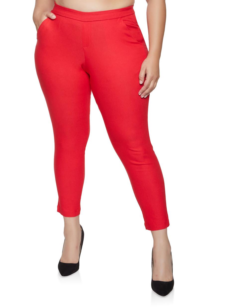 Plus Size Pull On Dress Pants | Products | Pants, Dress pants, Plus size