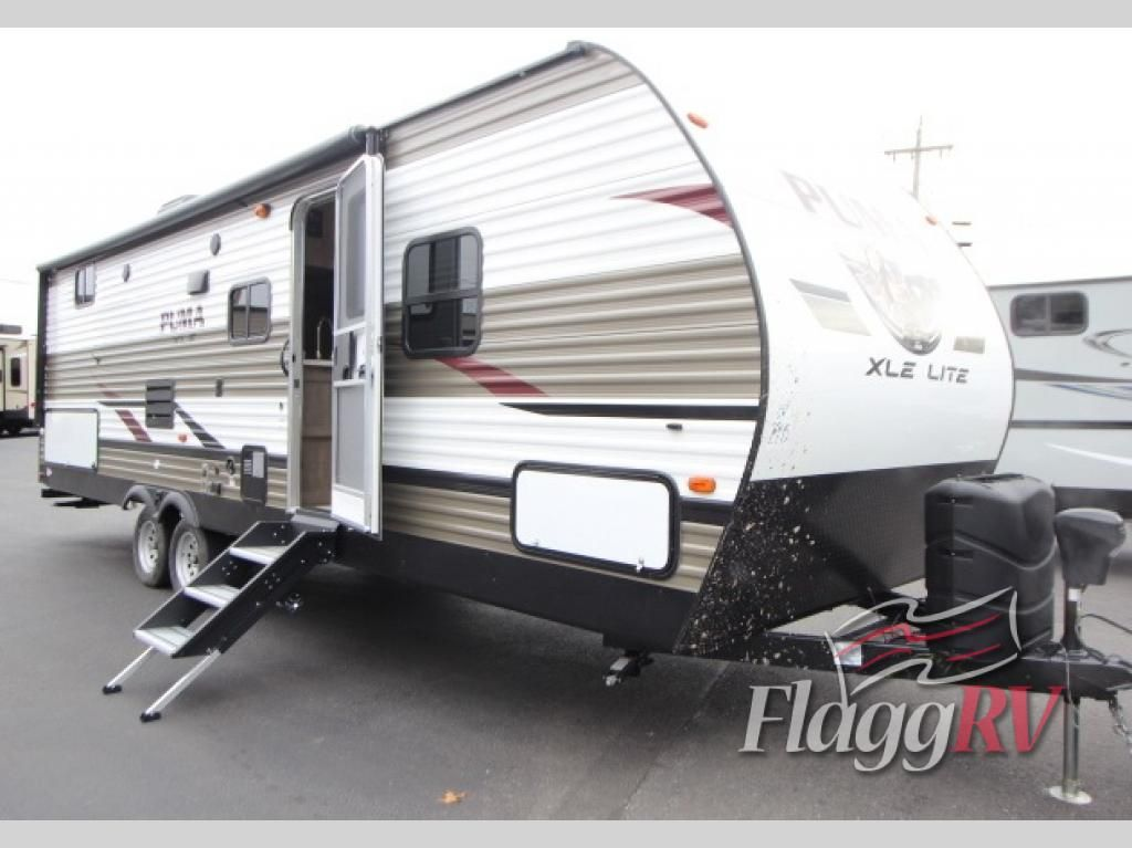 New 2019 Palomino Puma Xle Lite 27rbqc Travel Trailer At Flagg Rv