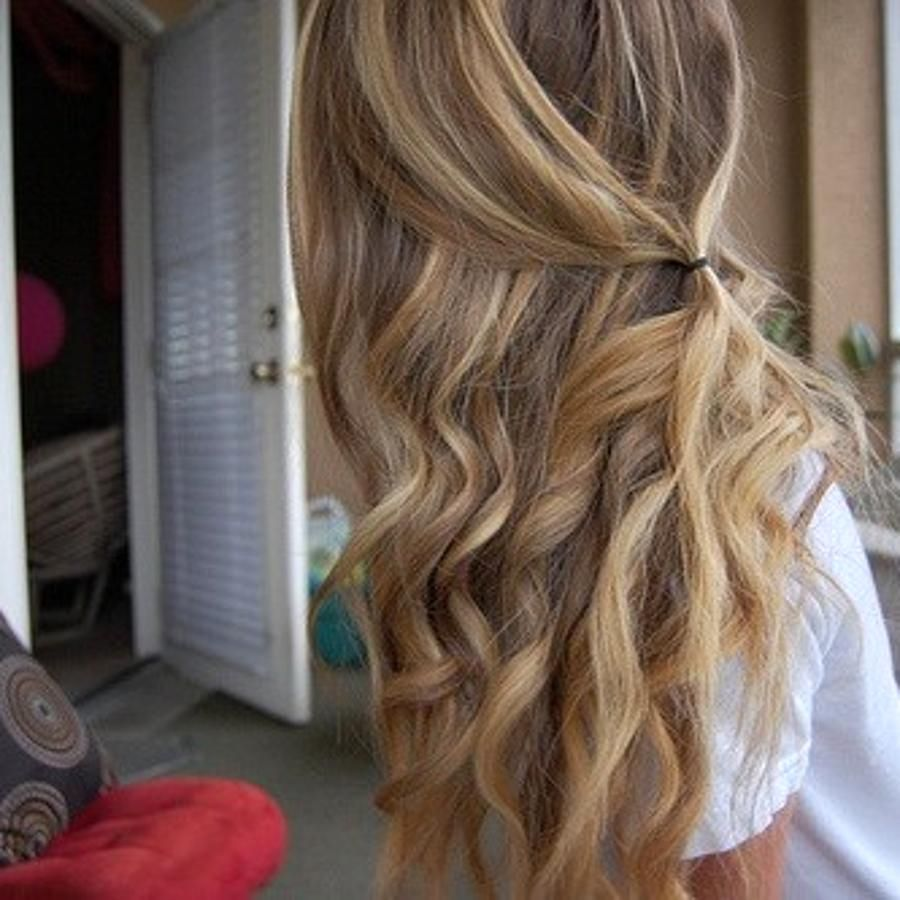 casual curls ideas