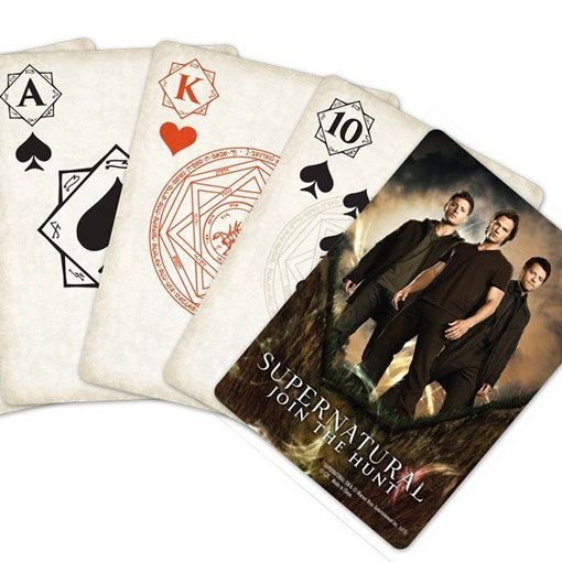 Supernatural Playing Cards ⋆ Fandom Gifts!