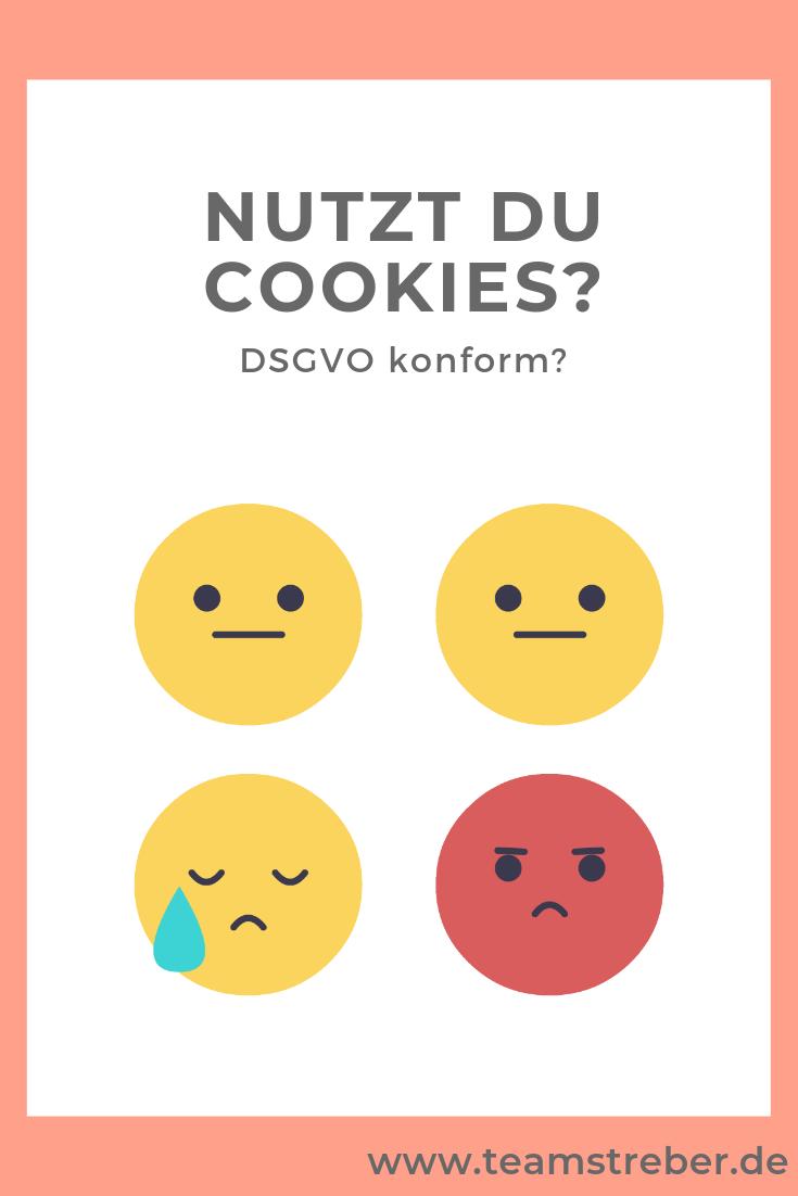 Cookie Einwilligung Ist Pflicht Teamstreber Homepage Gestalten Online Marketing Streber