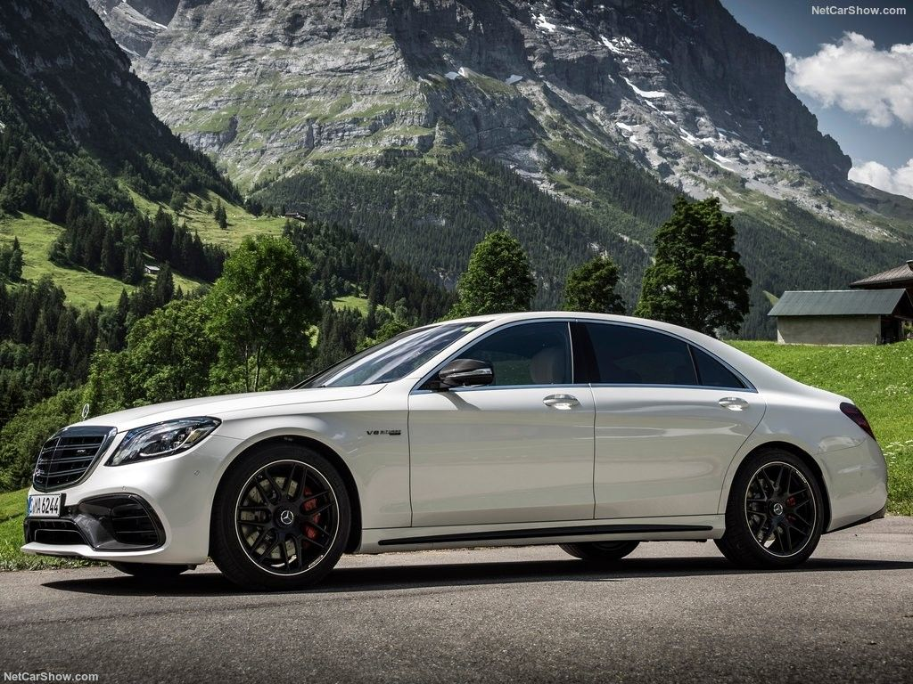 White 2018 S63 Amg Lux Cars Mercedes S Class Benz S Class