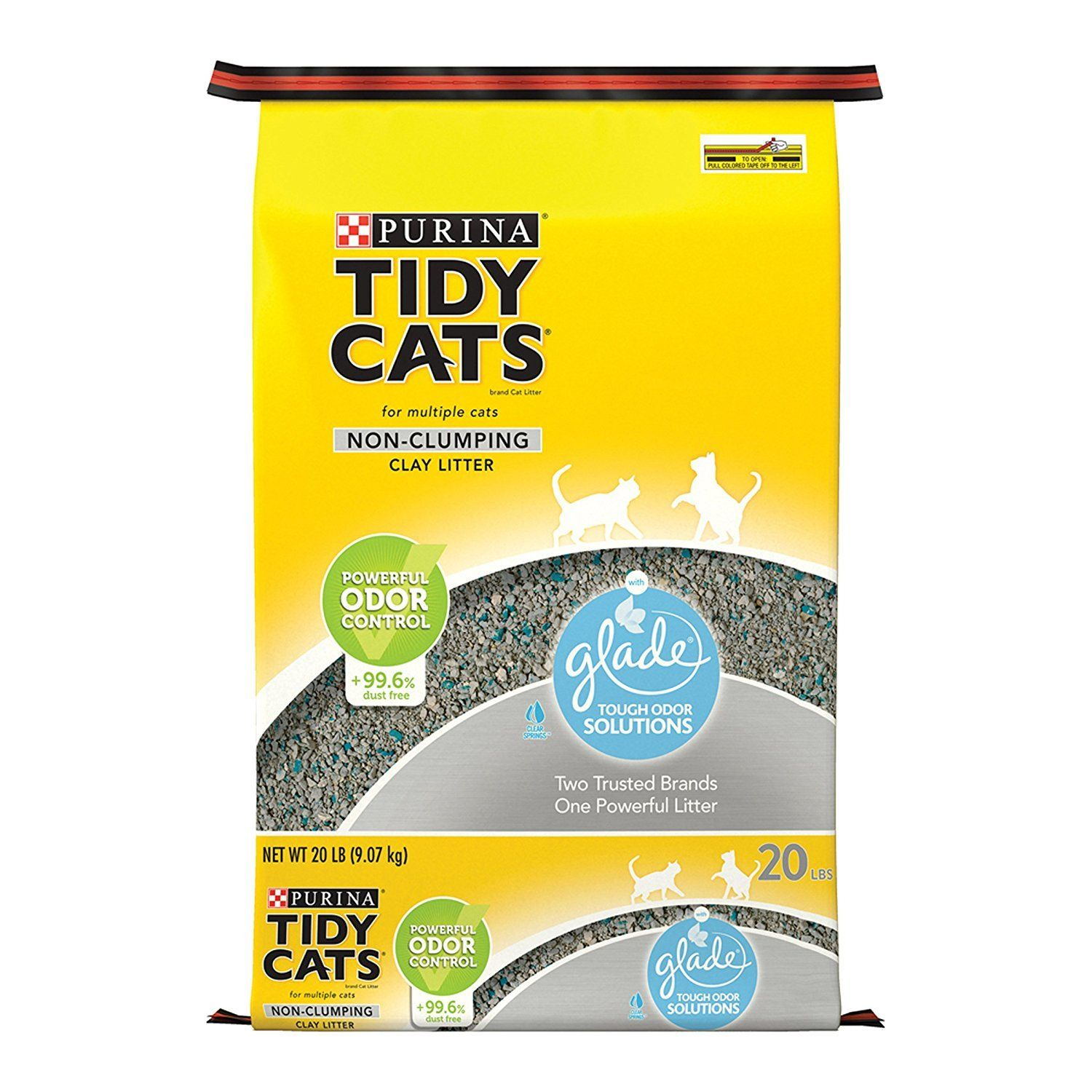Purina Tidy Cats NonClumping Cat Litter Many thanks