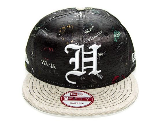 817b135a5bd Hungy Time H Pride Snapback Cap by FITTED HAWAII x NEW ERA