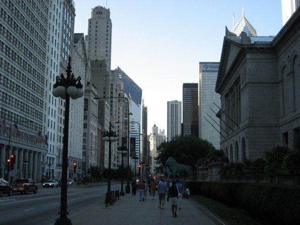 Caminata rápida por Chicago