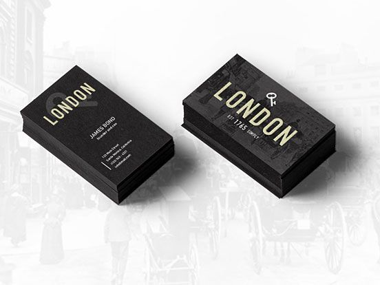 London Business Card Business Cards The Design Inspiration Innovative Business Cards Cheap Business Cards Name Card Design
