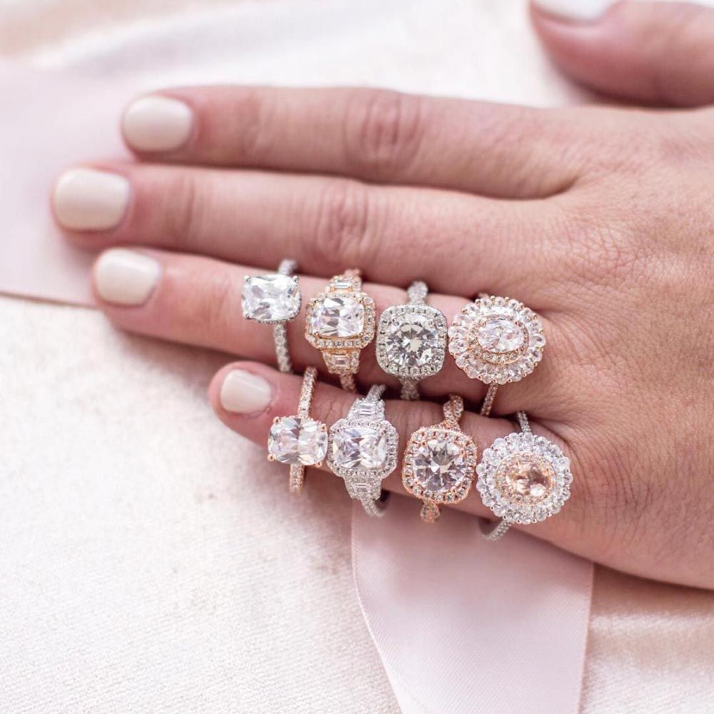 22 Cushion Cut Engagement Rings in Honor of the Royal Wedding ...