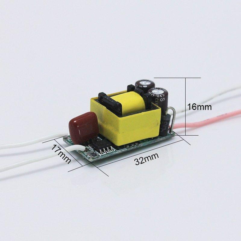 Free Shipping 4 8 2w Led Driver 8w 10w 12w 14w 16w Lamp Driver Power Supply Lighting Transformer Ac85 265v Output 550ma Free Sh Led Drivers Transformers Led