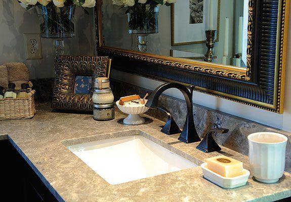 2010 Decorators\' Show House, Master Bathroom by Kristin Okeley ...