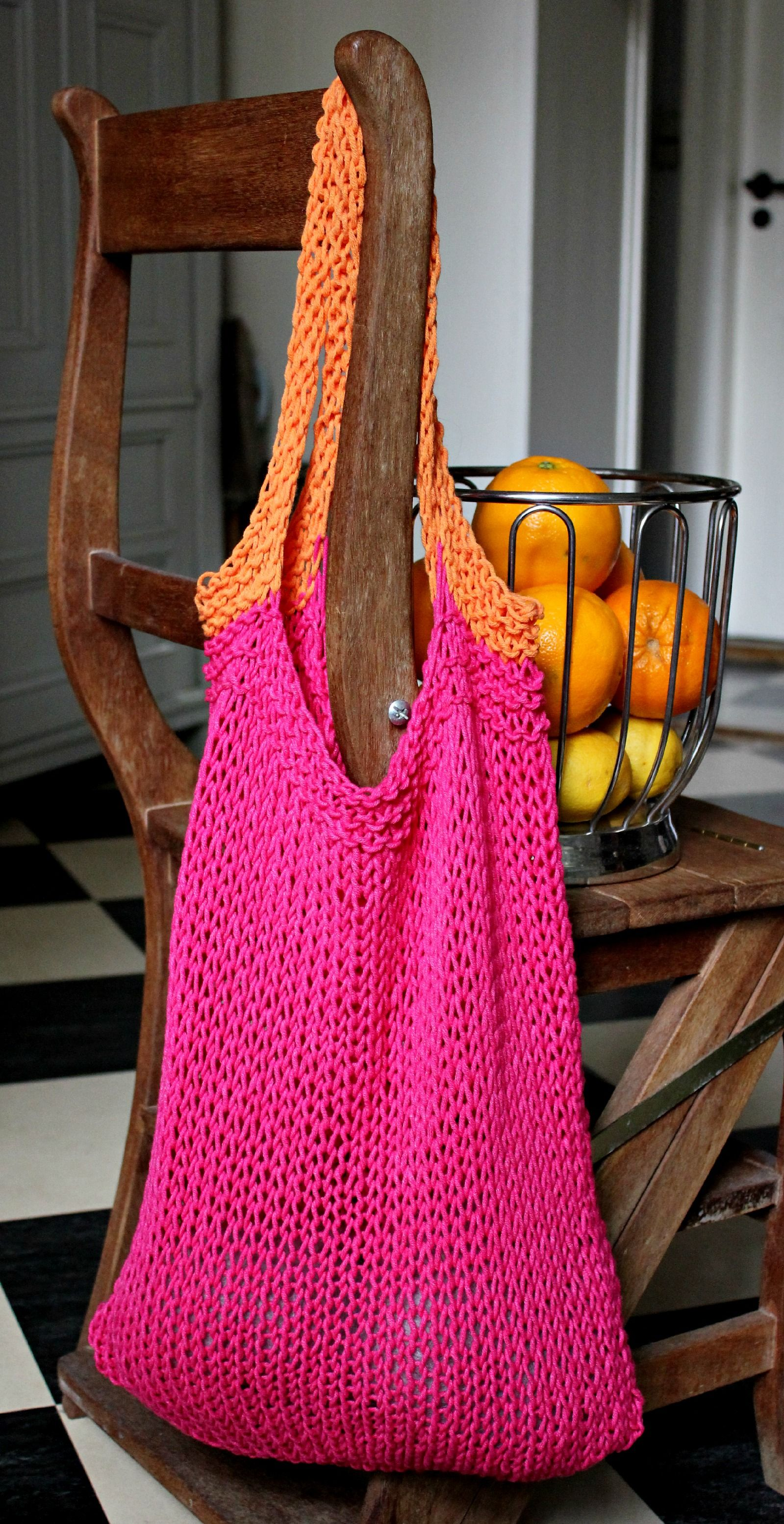 Knit A Simple Bag from Susanne-gustafsson.dk | Knit ideas ...