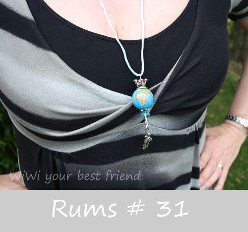 WiWi your best friend: Rums #31 ...ein Knotenkleid für unser Hamburg-Woch...