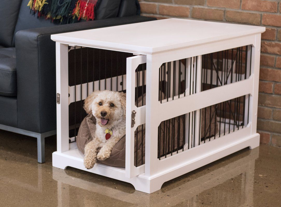 Archie Slide Aside Pet Crate Dog Crate Furniture Small Dog Crate Pet Crate