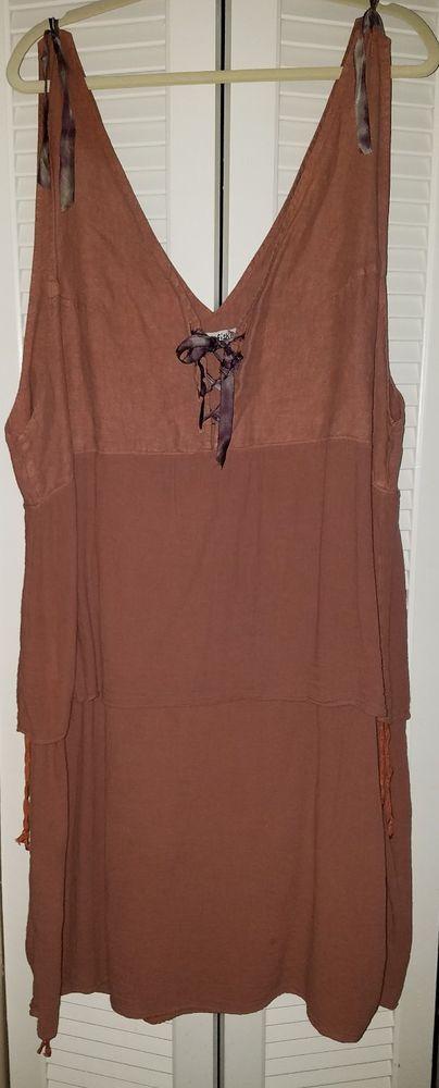 Blue Fish linen dress XL 1X   Clothing, Shoes & Accessories, Women's Clothing, Dresses   eBay!