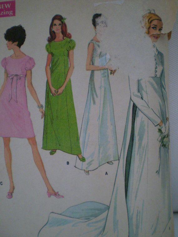 9227 Pour jeune de McCall femme et robe de mariée Jr. ou robe taille demoiselles d'honneur 10