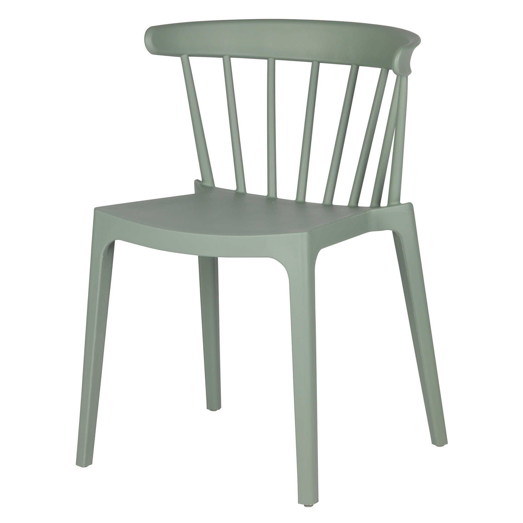 Woood Bliss Stuhl aus Kunststoff grün Jetzt auf EIKORA online