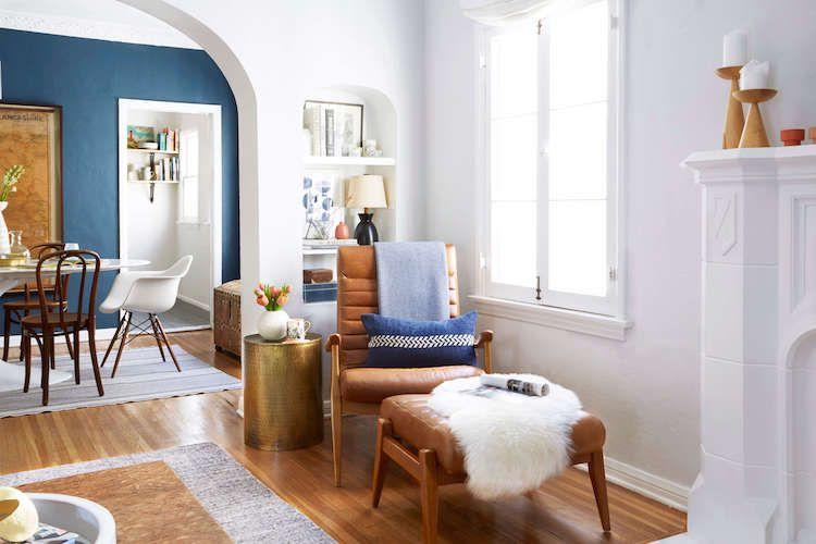 Leseecke gestalten - Einrichtungstipps Wohnideen Wohnzimmer - bar wohnzimmer möbel
