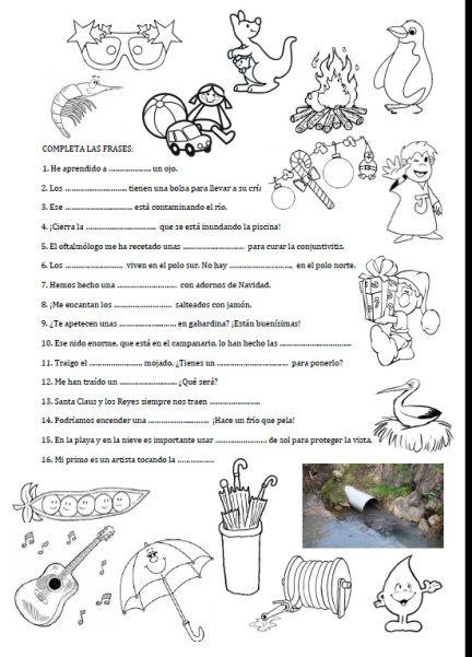 Ejercicios de ortograf a para imprimir y fijar conceptos