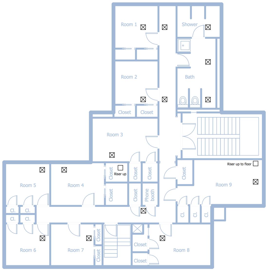 School HVAC Plan   Hvac design, Hvac ductwork, Hvac   Hvac Drawing Plans      Pinterest