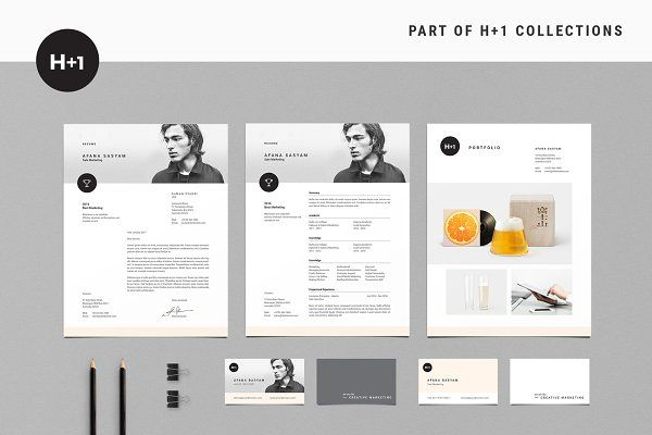Resume Templates BOXKAYU - Resume + Business Cards Job search - resume business cards