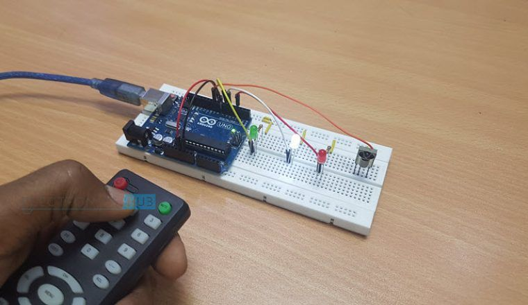 Arduino IR Receiver Tutorial | How to set up IR Receiver and IR Remote