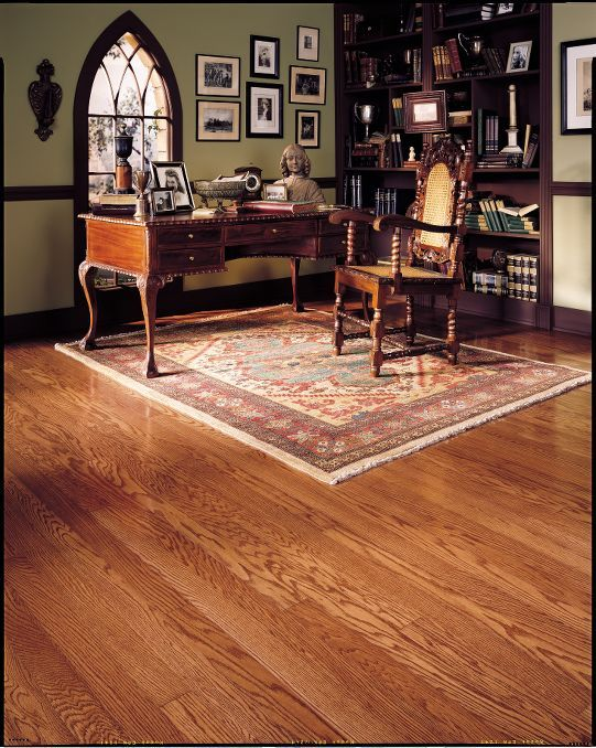 bruce engineered hardwood flooring: 3 in. oak - gunstock | for the